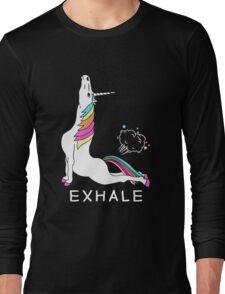 Unicorn Exhale Long Sleeve T-Shirt