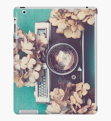 Camera & Hydrangea iPad Case/Skin