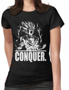 CONQUER (Teen Gohan) Womens Fitted T-Shirt