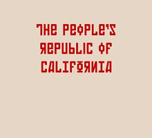 The People's Republic of California (red letters) Unisex T-Shirt