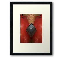 Texture and Shapes Framed Print