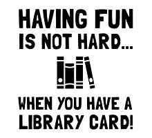 Library Card Fun by AmazingMart