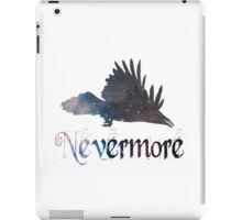 Quoth the Raven 'Nevermore' iPad Case/Skin