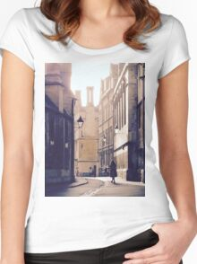 Stone City Women's Fitted Scoop T-Shirt