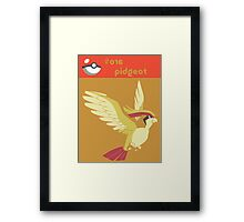 Pidgeot Framed Print