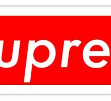 """Soupreme"" Supreme Box Logo Parody Sticker"