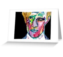 Eleventh Doctor / Matt Smith Greeting Card