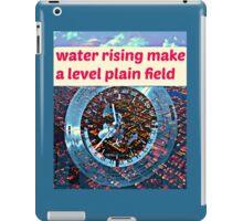 AUSTRALIA WATER RISING iPad Case/Skin