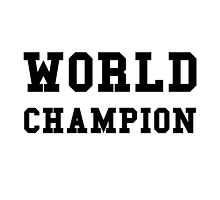 World Champion by AmazingMart