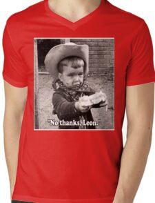 No thanks, Leon. Mens V-Neck T-Shirt
