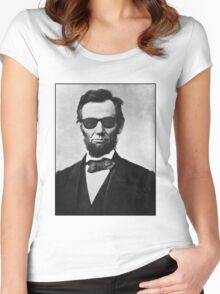 Lincoln's Way Women's Fitted Scoop T-Shirt