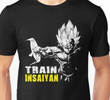 TRAIN INSAIYAN (Vegeta Hardcore Squat) Unisex T-Shirt