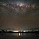 Milky Way over Huon River, Tasmania #2 by Chris Cobern