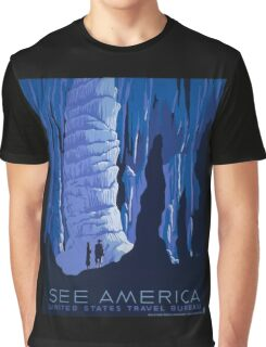'See America' Vintage Travel Poster (Reproduction) Graphic T-Shirt