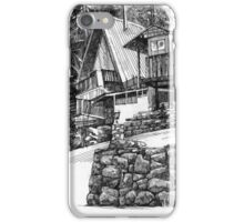 Cottage in North Vancouver iPhone Case/Skin