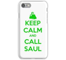Keep Calm And Call Saul iPhone Case/Skin