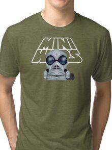 MiniWars: Death Star Droid w/MOUSE droid Loose Tri-blend T-Shirt