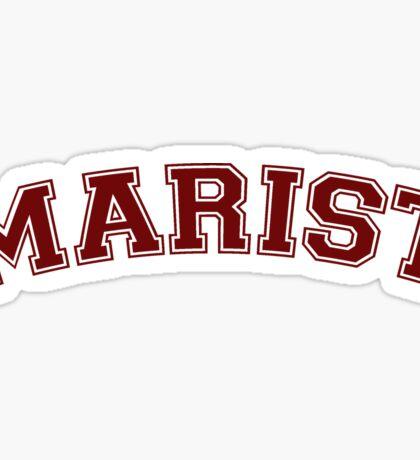 Marist Sticker