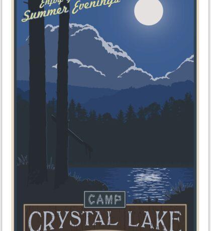 Best summer camp ever Sticker