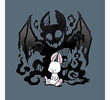 Beast Bunny Photographic Print