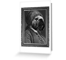 Bull Franklin Greeting Card