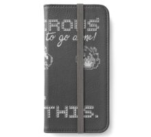 It's Dangerous to go alone, take this! iPhone Wallet/Case/Skin