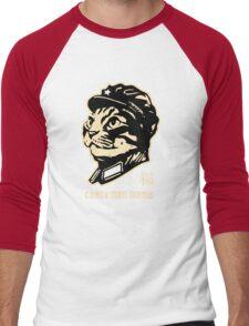 Chairman Meow Communist Cat Men's Baseball ¾ T-Shirt