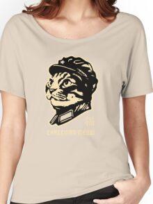 Chairman Meow Communist Cat Women's Relaxed Fit T-Shirt