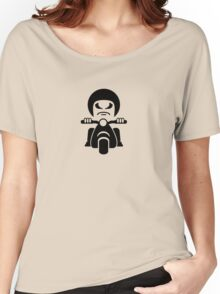 Bad Dude on a Scooter VRS2 Women's Relaxed Fit T-Shirt