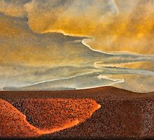 Desert Sunset by Marilyn Cornwell