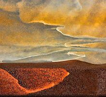 Desert Sunset by Marilyn Cornwell