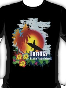 Sunset In Tortola T-Shirt