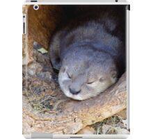 Sleeping Baby Sea Otter iPad Case/Skin