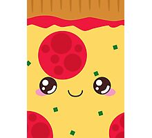 Pepperoni Pizza Photographic Print