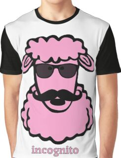 Incognito Pink Sheep Graphic T-Shirt
