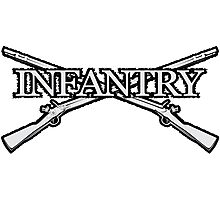 Infantry Photographic Print