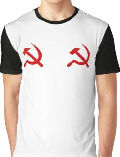 communist nipples 2 Graphic T-Shirt