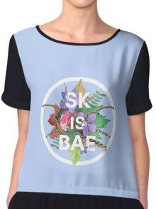SK IS BAE Chiffon Top