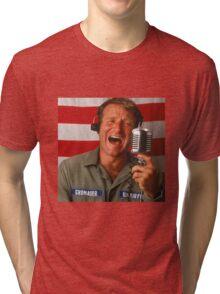 Good Morning Robin Williams  Tri-blend T-Shirt