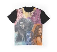 Contemporary Musical Portraits Graphic T-Shirt