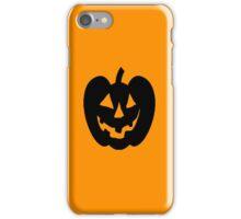 Jack-O-Lantern 1 iPhone Case/Skin