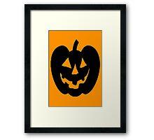Jack-O-Lantern 1 Framed Print