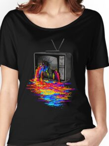 Pixel Overload Women's Relaxed Fit T-Shirt