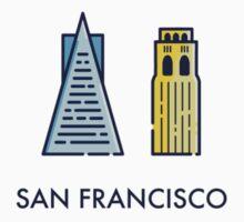 San Francisco Logo One Piece - Long Sleeve
