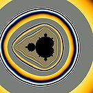 Mandelbrot Hilbert Curve by Rupert Russell