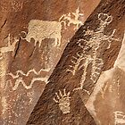 Petroglyphs .3 by Alex Preiss