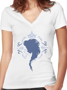 Let It Go Women's Fitted V-Neck T-Shirt