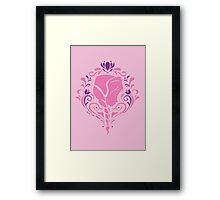Love Will Thaw Framed Print