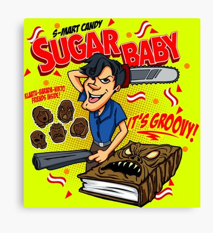 SUGAR BABY - ARMY OF DARKNESS Canvas Print