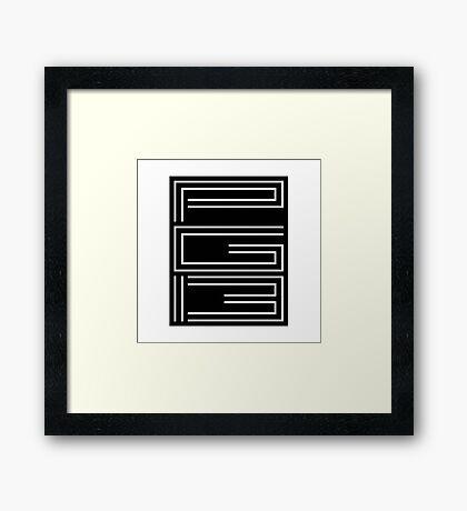 PG-13 Framed Print